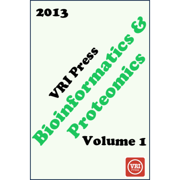 VRI Bioinformatics & Proteomics: Volume 1