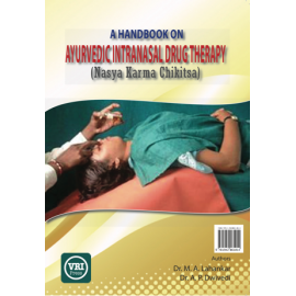 A Handbook on Ayurvedic Intranasal Drug Therapy (Hard Cover)