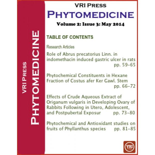 VRI Phytomedicine: Volume 2
